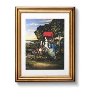 Giclée – Μεταξοτυπία έργου του εικαστικού Θεόδωρου Πανταλέων. Εκτύπωση Απόλυτο.