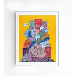 Καλλιτεχνική εκτύπωση έργου του Γιώργου Σταθόπουλου από το Apolyto Creative Spot