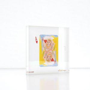 Image of Giorgos Stathopoulos plexi glass art object by Apolyto